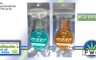 Budtender's Pick of the Week 250mg THC Moon Bars