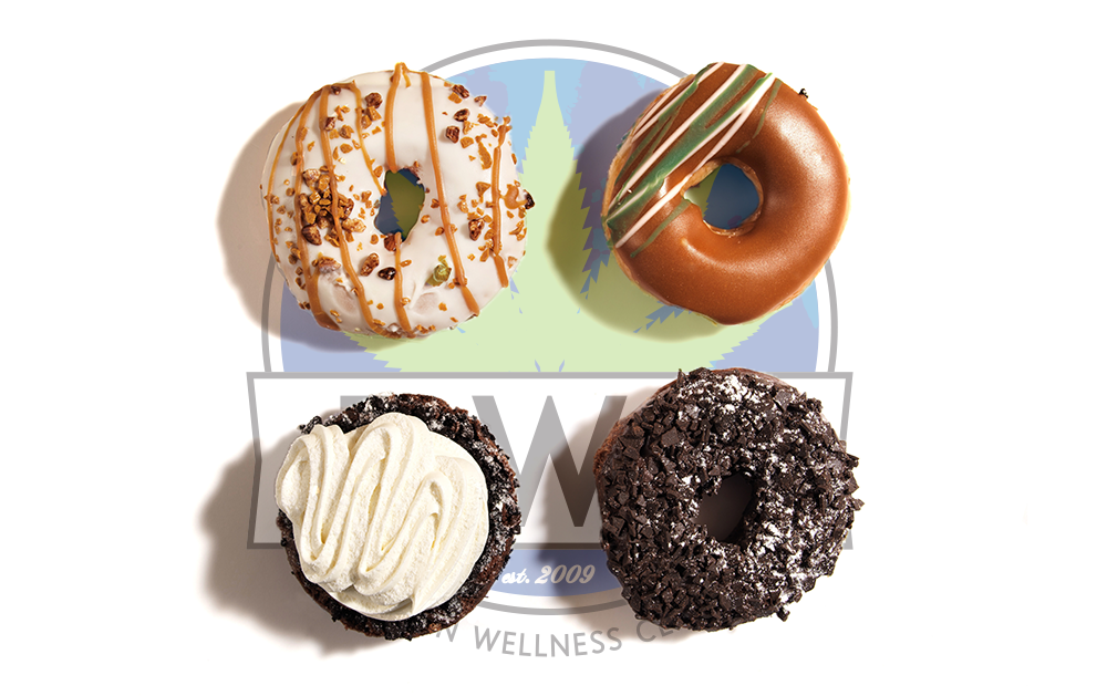 Florin Wellness Center blog - THC dosage edibles cannabis marijuana weed dispensary 420 thc cbd precise edibles donuts cookies gummies medicinal recreational california sacramento yum foodie